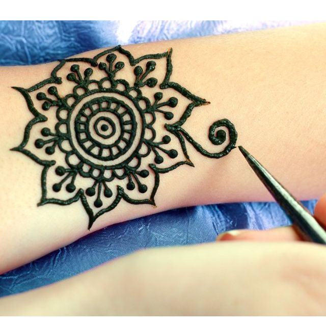 Body Art Quality Organic Henna Available Really Fresh Design Craft On Carousell