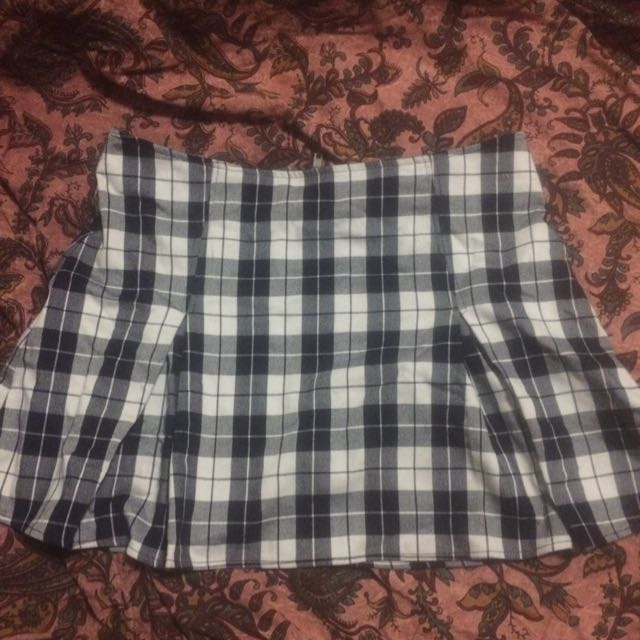 Checked Mini Skirt Size 12 From General Pants