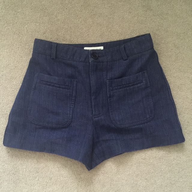 Country Road Denim Shorts Size 4 (actual Fit In Size 6)