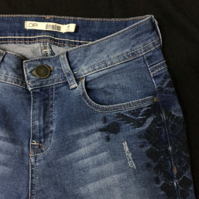 Dorothy Perkins Embroidered Jeans