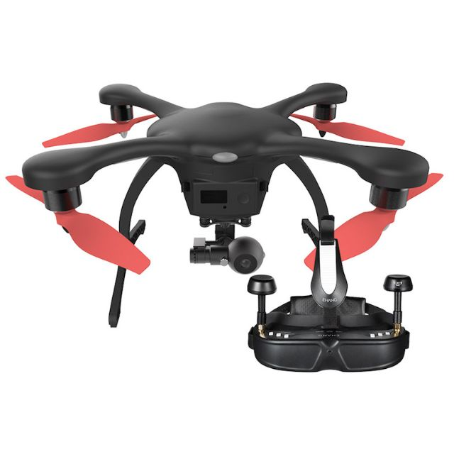 Ehang Ghost Drone 20 4K Camera Set VR Goggle Everything
