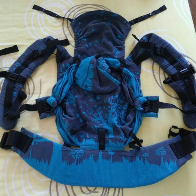 b6cb8f2fcb3 Emeibaby Hybrid Baby Carrier Full Treemei Petrol Turquoise