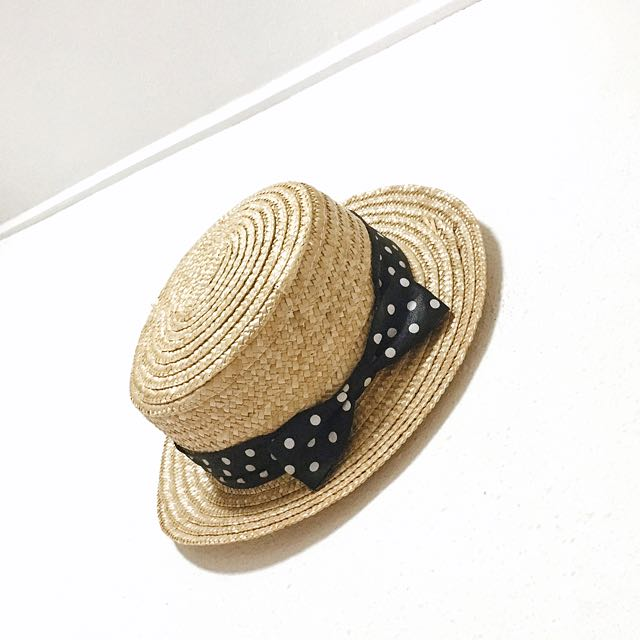 c1c88b239f9 Flat Top Straw Hat