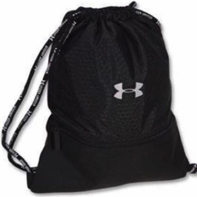 16 Under Armour Drawstring Bag Backpack Est In Carou Men S Fashion On