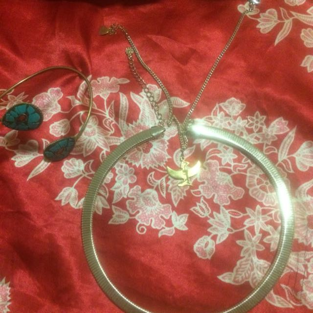 Jewellery Package - Egyptian Style Chokers Plus Cuff