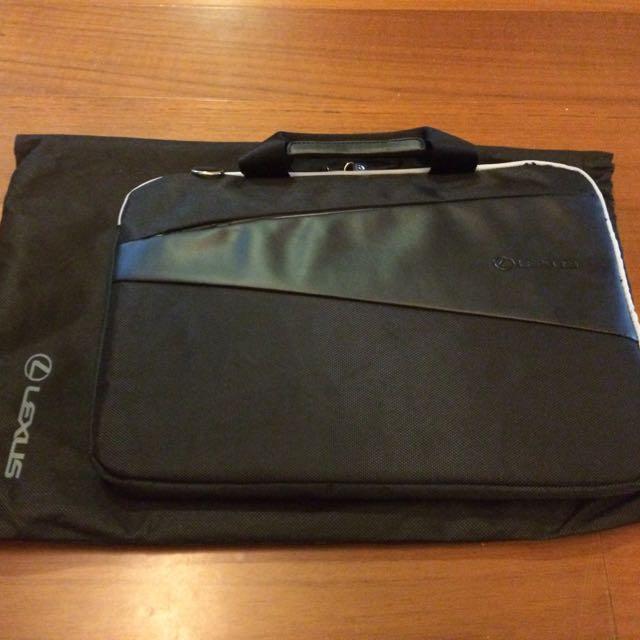LEXUS高級商務手提包 PC皮包 電腦收納包