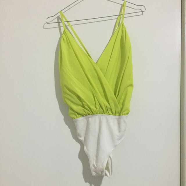 Lime-Green Top (backless)