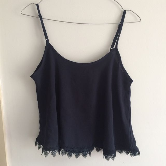 Maxim Top With Lace Trim