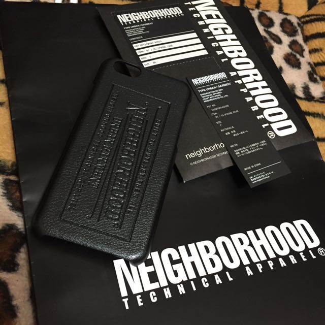 NEIGHBORHOOD CL-iPhone CASE 黑