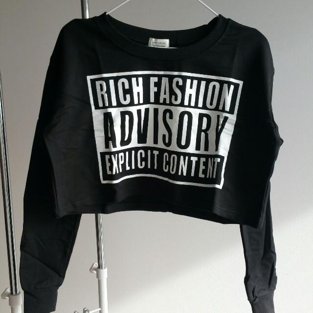 New Crop Sweatshirt - S/M