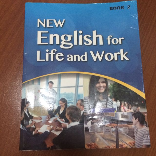 NEW English For Life And Work
