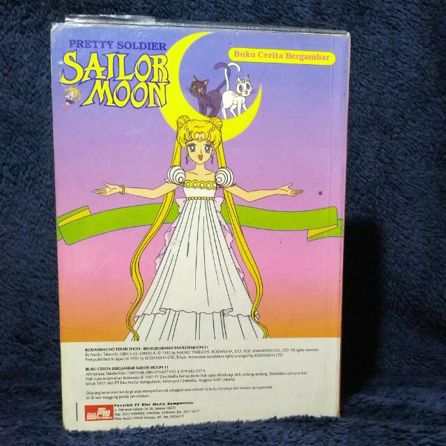 Sailor Moon #11 (Finale) - Buku Cerita Bergambar, Books & Stationery