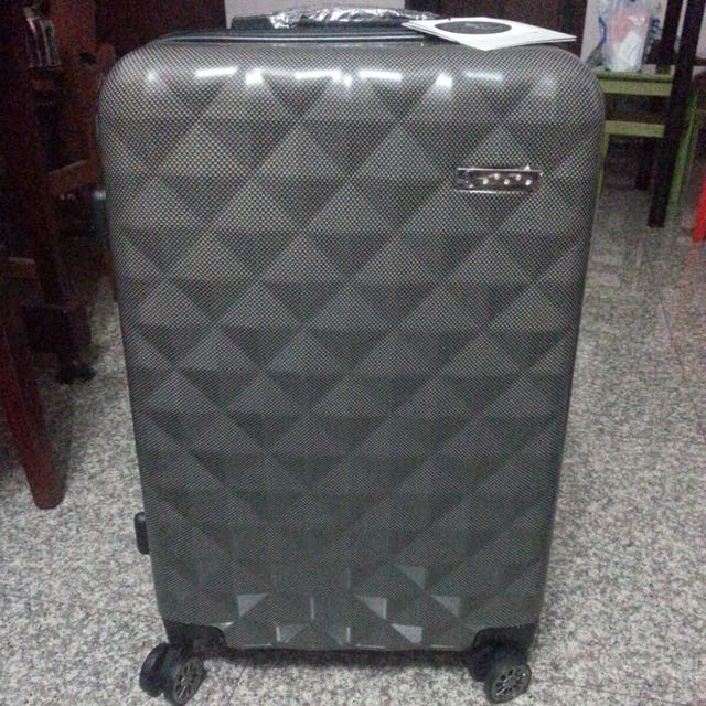 16ccfe1a5d9 Saro Vinci Luggage With swarovski crystal studs, Furniture on Carousell