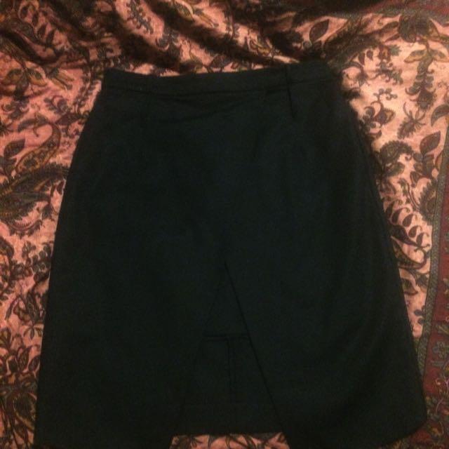 witchery Black Corporate Skirt Size 10