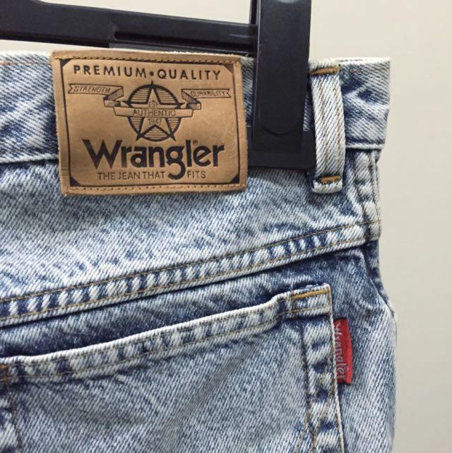 Wrangler Vintage DIY Denim
