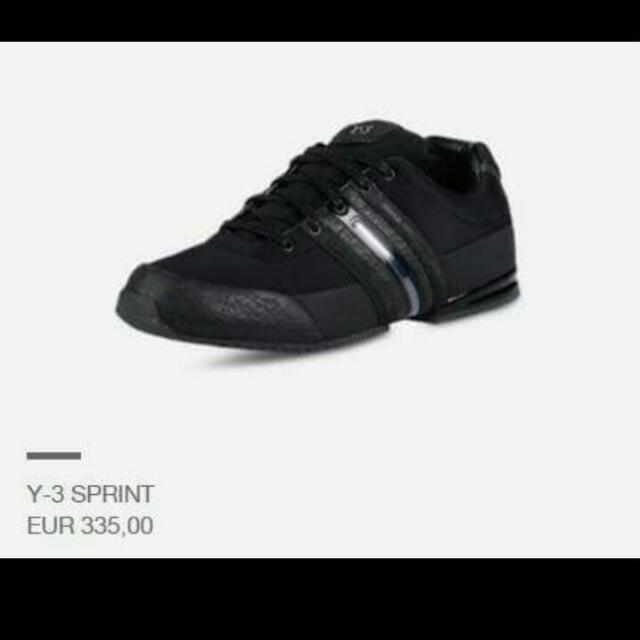 徵收Y-3鞋
