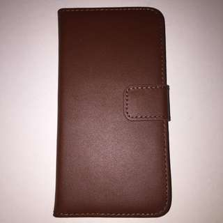 Classic Leather Wallet phone case with stand for Iphone 6