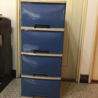 原價890 四層抽屜櫃 塑膠製品