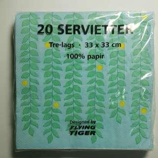 野餐 時尚紙巾