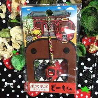 日本東京吉祥物雷門限定 多摩君 鑰匙圈 手吊飾 超可愛