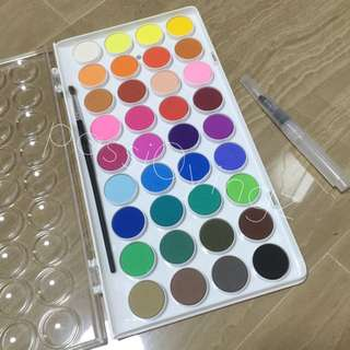 💖 INSTOCK! SIMBALION 36 COLORS WATERCOLOUR SET