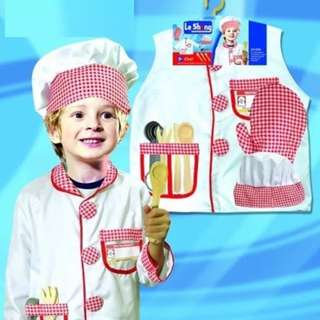 Chef Play Set And Costume For Kids