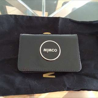 Brand New Without Tags Mimco Card Wallet