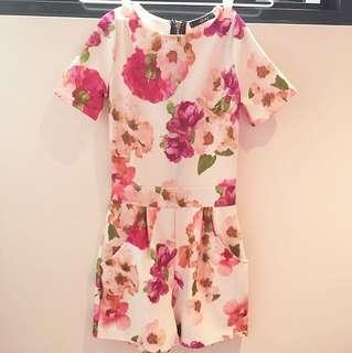 QUIZ Floral print Jumpsuit