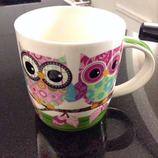 貓頭鷹馬克杯(Owl Mug)