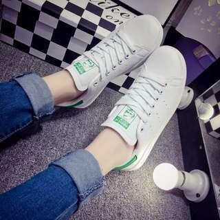 adidas 男鞋女鞋史密斯小白stan smith (綠色)