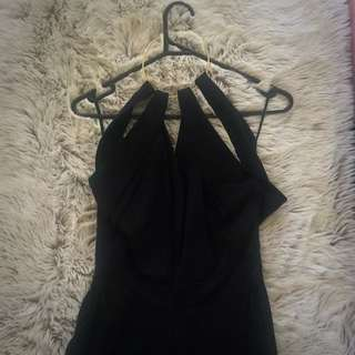 Witchery Black (full Length) Jumpsuit