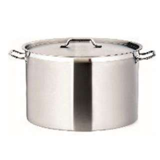 NEW COMMERCIAL 41L STAINLESS STEEL 40CM STOCK POT CHEF QUALITY WIDE SAUCEPAN  Item code: 1-6-000094A