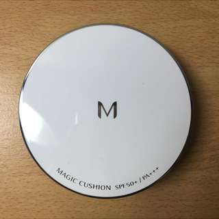 Missha銀盒氣墊粉餅(含運)