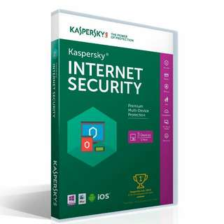 Kaspersky Antivirus Internet Security 2016