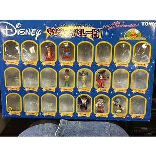 迪士尼 Disney Tomy 小熊維尼 跳跳虎 小飛俠 彼德潘 小精靈 虎克船長 小木偶 皮諾丘 美女與野獸 野獸