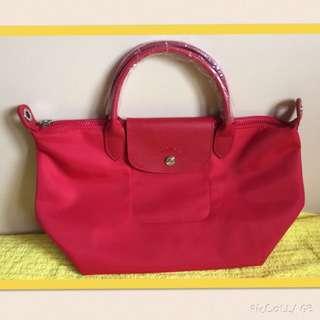 Longchamp Le Pliage Neo Red