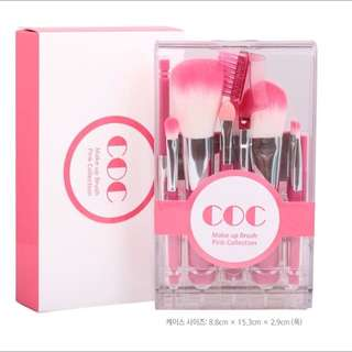 韓國coc化妝刷組
