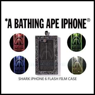 🎈A BATHING APE 15/SS SHARK CASE 鯊魚 LED手機殼