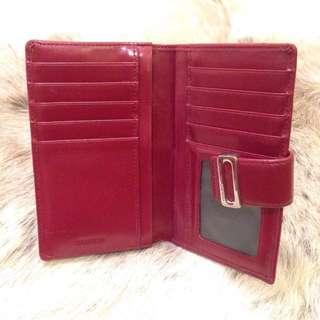 Oroton Dark Red Wallet