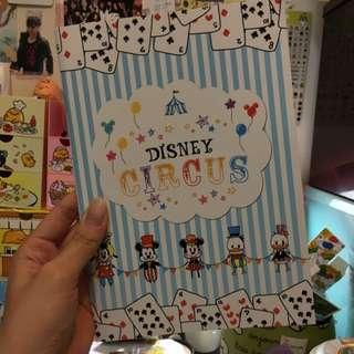 可愛迪士尼 Disney馬戲團筆記本