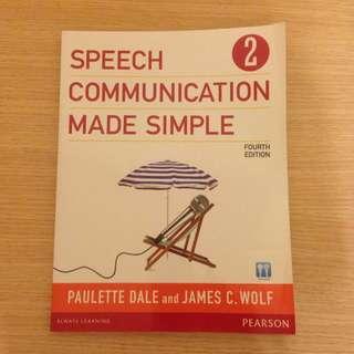 英文課本 Speech Communication Made Simple