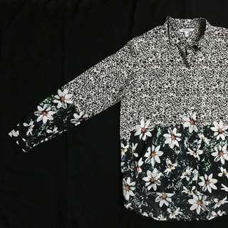 Zara Inspired Daisy Print Shirt