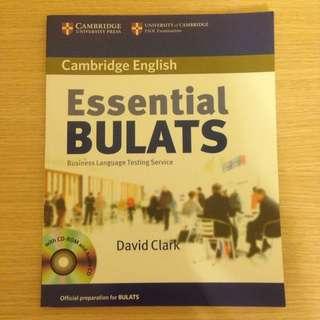 BULATS 英文證照 課本
