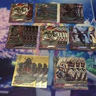 Buddyfight Death Ruler Deck