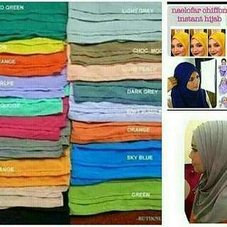 BN instant shawl Ala Neolofa