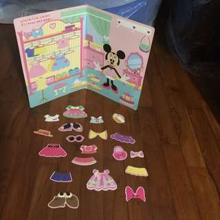 Minnie Mouse Magnet