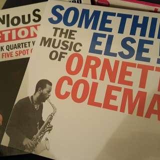 2 new jazz vinyl lp