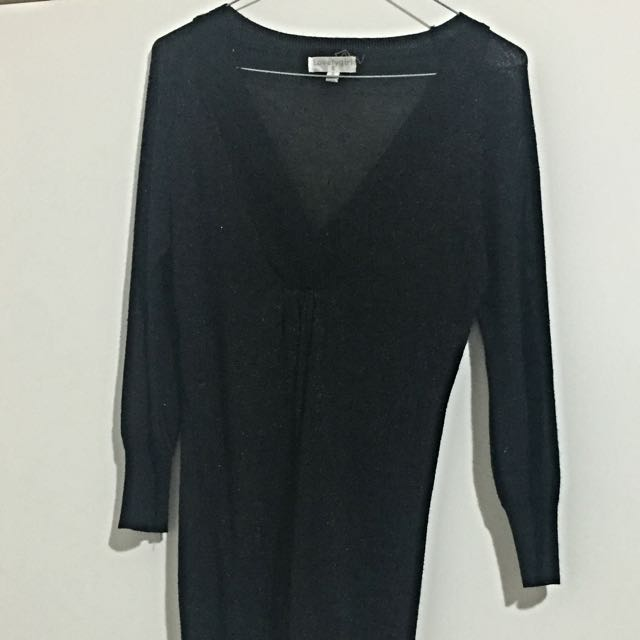 3/4 Blouse BLACK