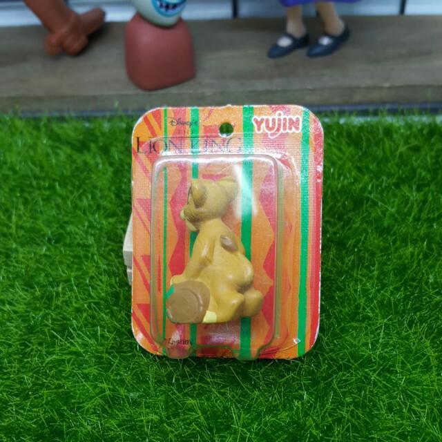 ♠ 扭蛋 ♠ YUJIN絕版Disney之獅子王-辛巴吊卡