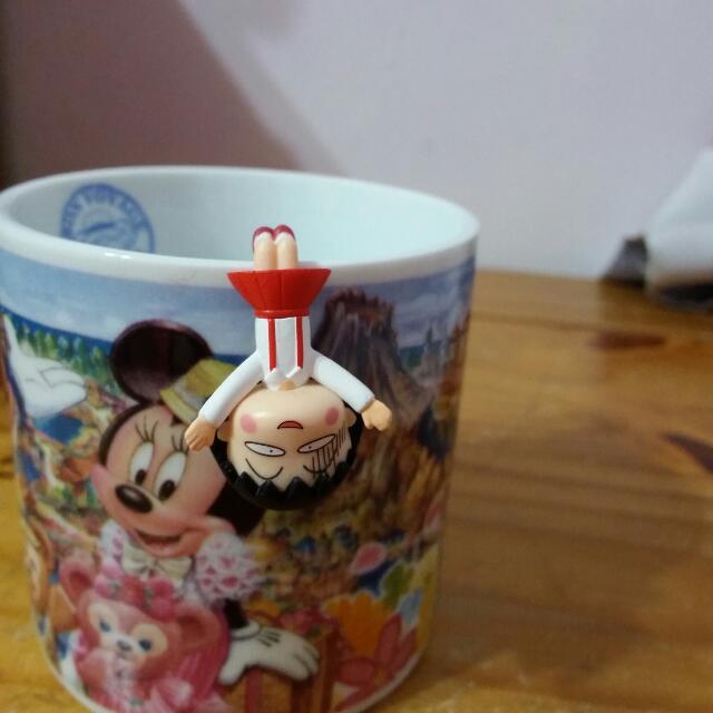 櫻桃小丸子杯緣子  日本帶回